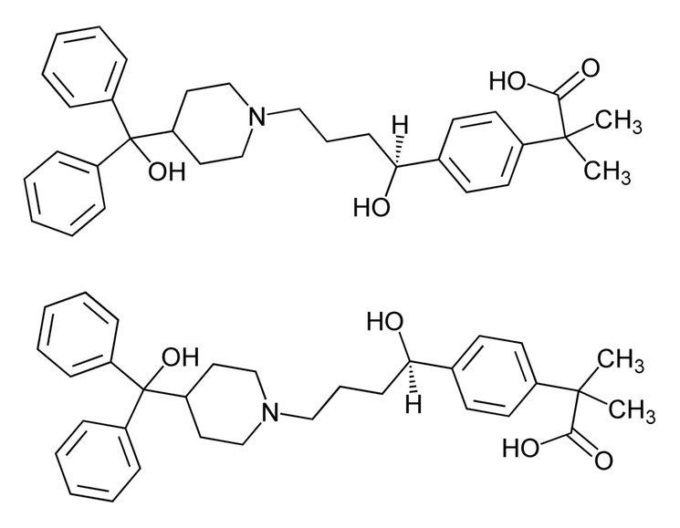 Антигистаминный препарат Фексофенадин