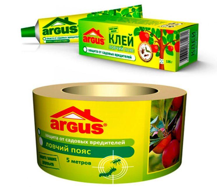Argus garden ловчий пояс для деревьев от садовых вредителей