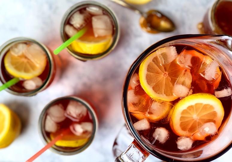 Холодный чёрный чай - рецепт
