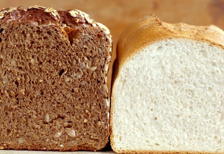 Черный хлеб полезнее белого