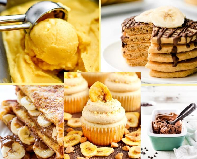 Десерты из бананов - вкусные рецепты пошагово