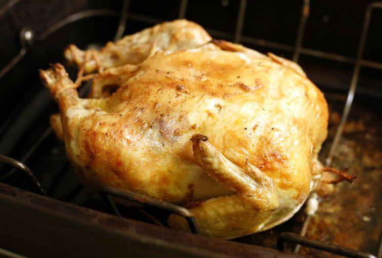 Домашний рецепт курицы в духовке