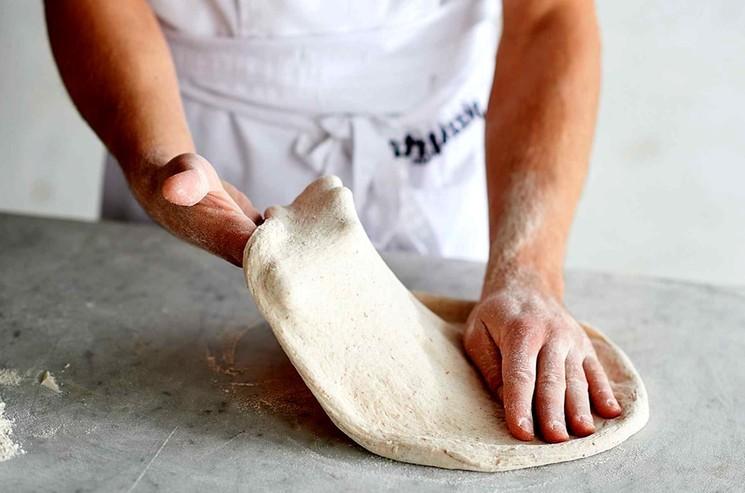 Држжевое тесто для пиццы