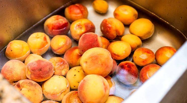 Готовим варенье из персиков