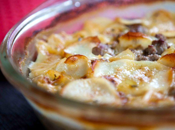 Говядина по-французски с картошкой