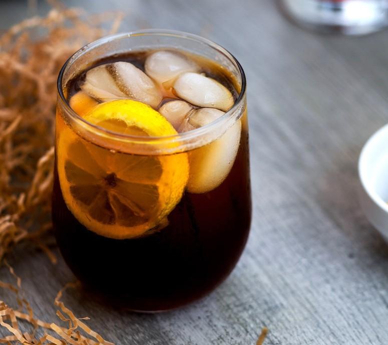 Приготовление холодного чёрного чая