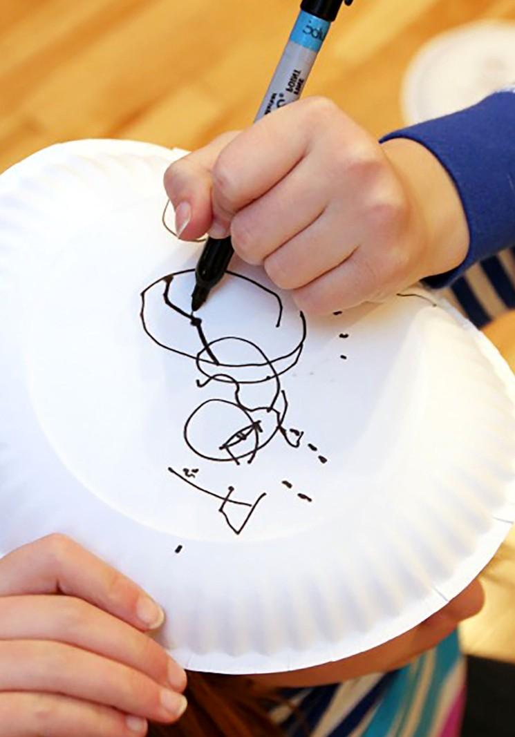 Зимние картины - игра для детей