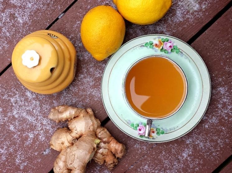 Чай с имбирём - полинезийский рецепт