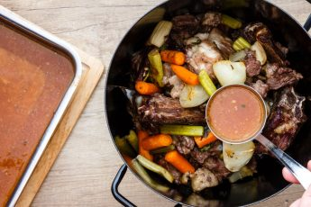 Советы как готовить говяжий бульон