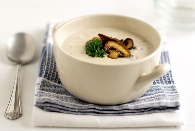Как готовить грибной суп-пюре