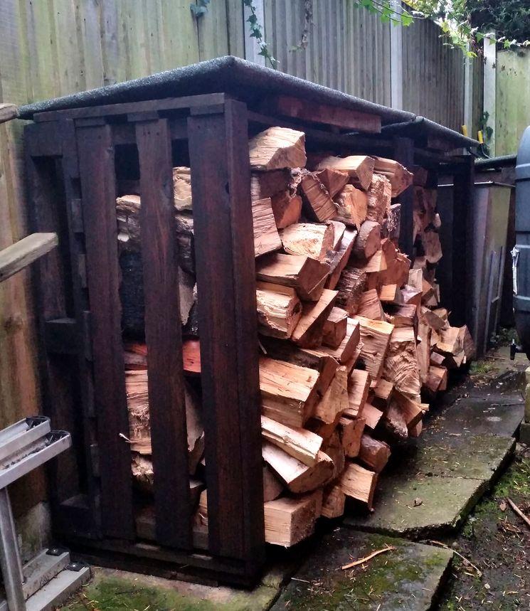 Как хранить дрова