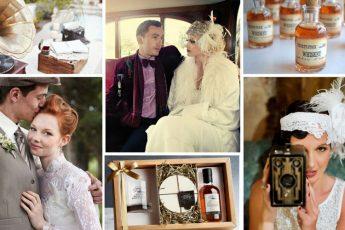 Оформление свадьбы в стиле ретро