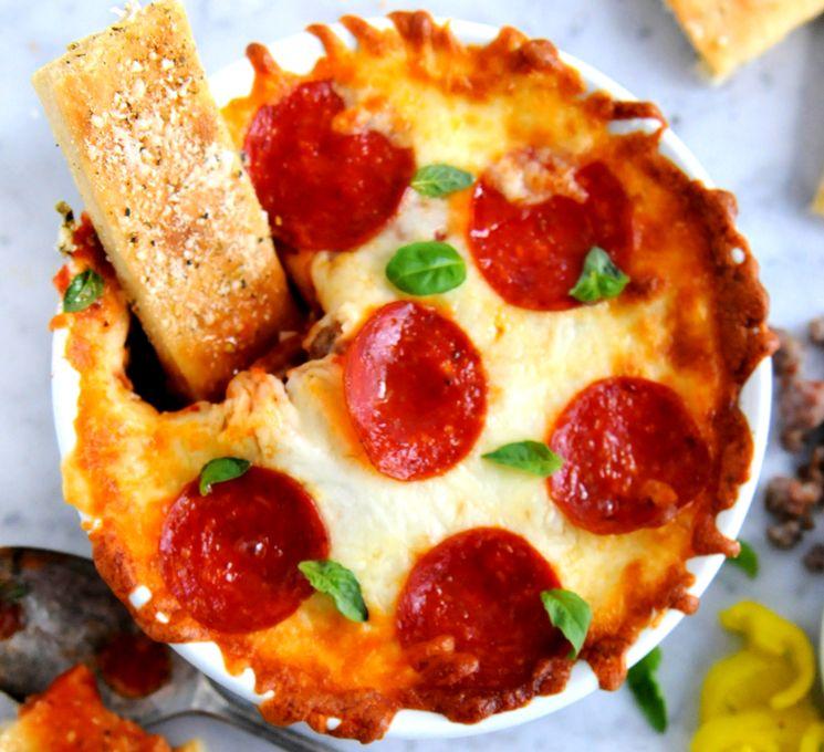 """Рецепт приготовления пиццы """"дип"""" без теста"""