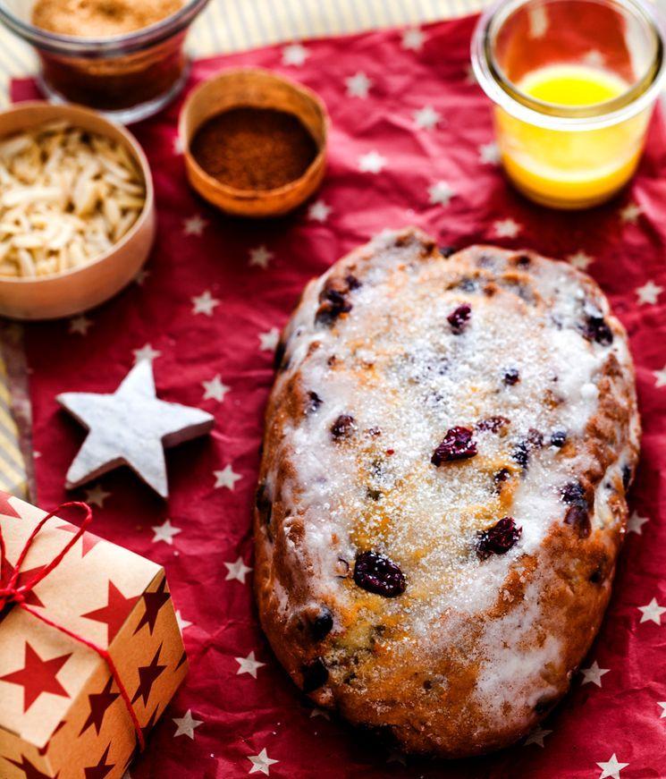 "Готовим Рождественский пирог ""Штоллен"""