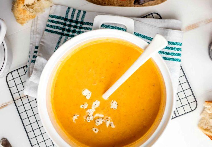 Рецепт французского сырного крем-супа