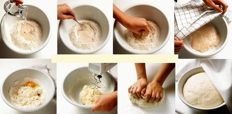 Кака сделать дрожжевое тесто