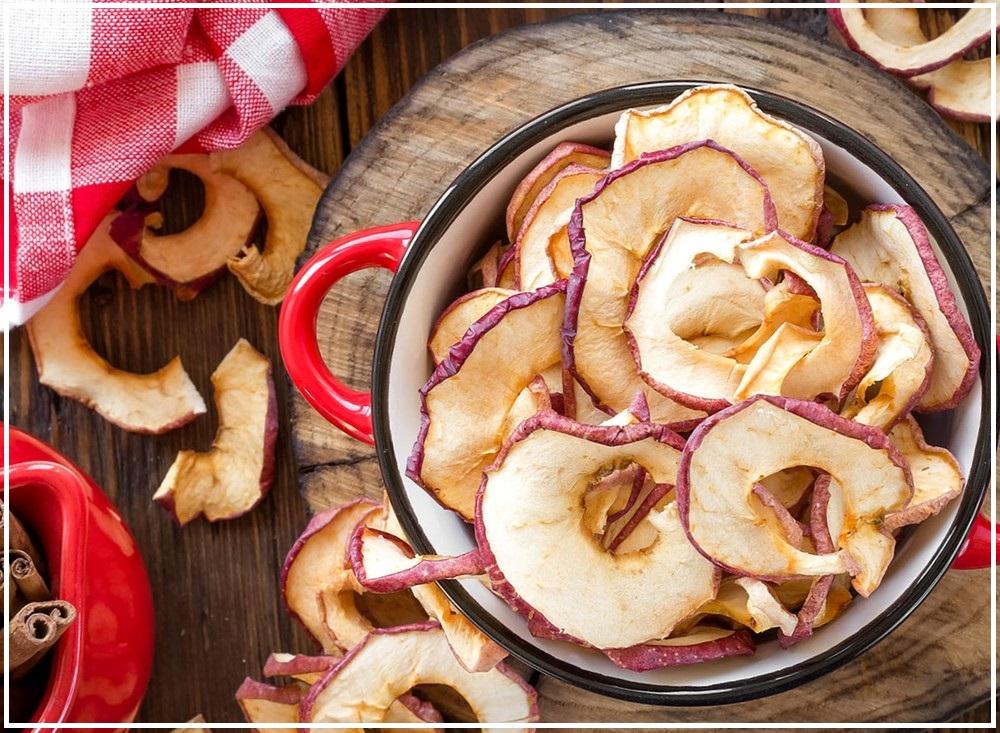 Как сушить яблоки в духовке сушилке и аэрогриле