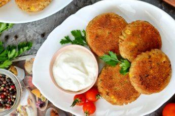 Картофельные котлеты с рыбой - простой пошаговый рецепт с фото