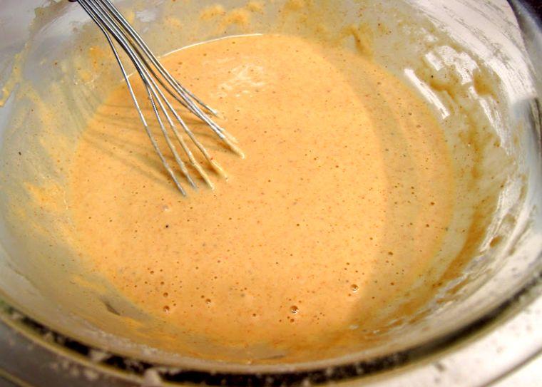 Кляр / рецепт кляра / вкусный и быстрый кляр / как приготовить ... | 543x760