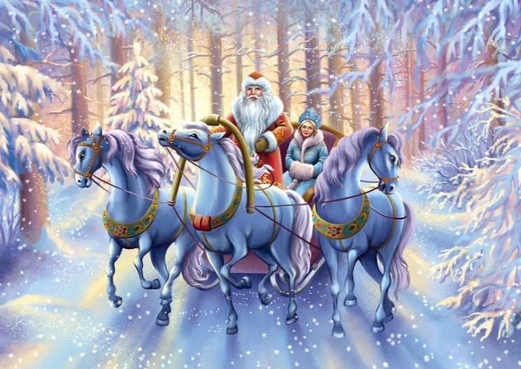 Когда появились новогодние Дед Мороз и Снегурочка