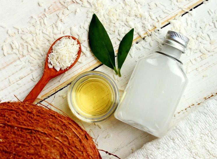 Кокосовое масло в диете для похудения