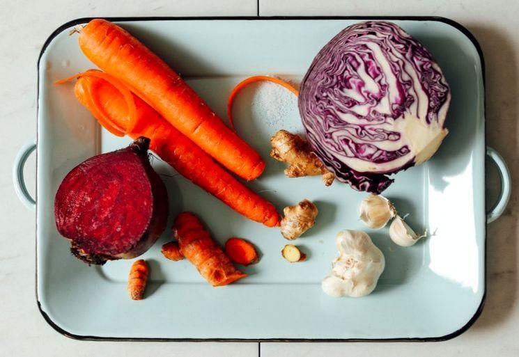Ингредиенты для приготовления квашеной капусты