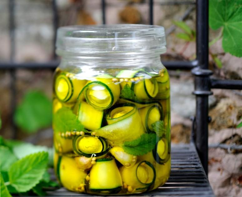 Маринованные кабачки - рецепт кабачков в оливковом масле и пряностях