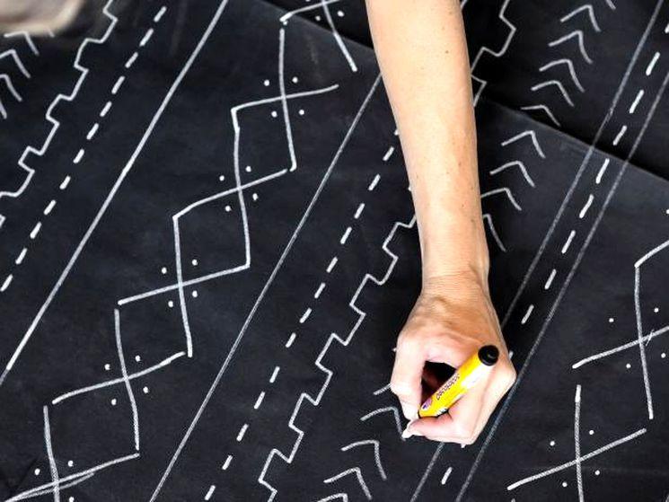 Как раскрасить ткань