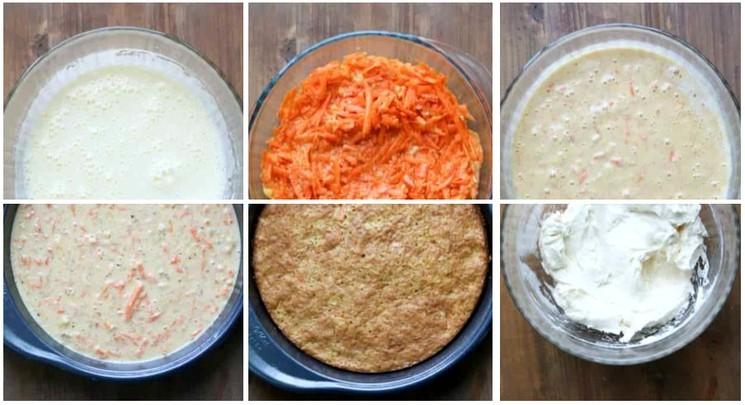 Как приготовить морковный торт с ананасом и кокосовой стружкой