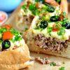 Как приготовить мясной пирог с фаршем в батоне - пошаговый рецепт с фото