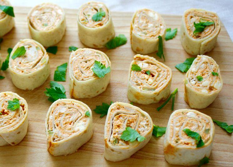Начинка для лаваша из рыбы и сыра