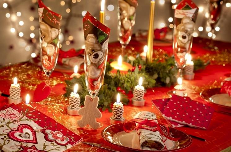 Новый год - украшение стола
