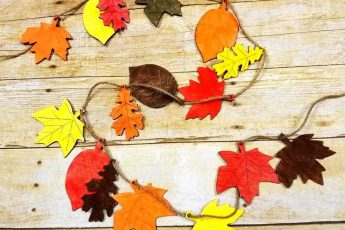 Осенняя поделка в детский сад