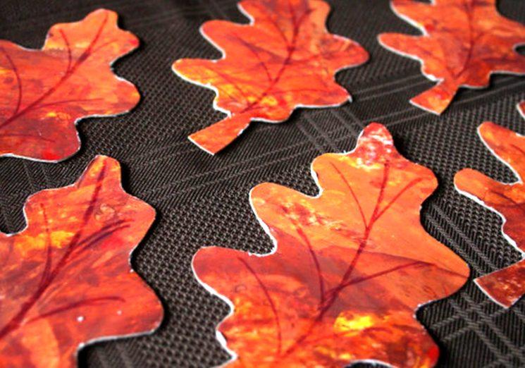 Осенние листья - что сделать в детский сад