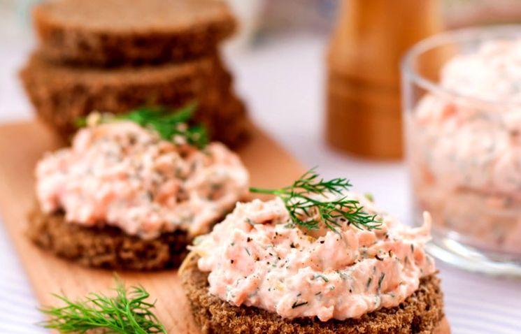 Рецепт лососевой пасты