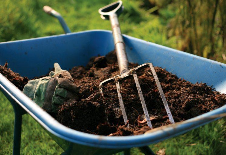 Перегной для удобрения огорода