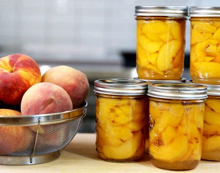 Рецепт персикового варенья