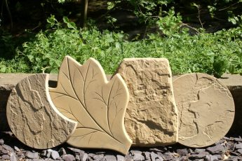 Тротуарная плитка своими руками для сада