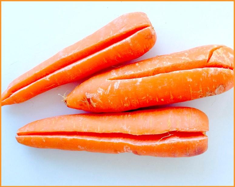 Причины почему трескается морковь