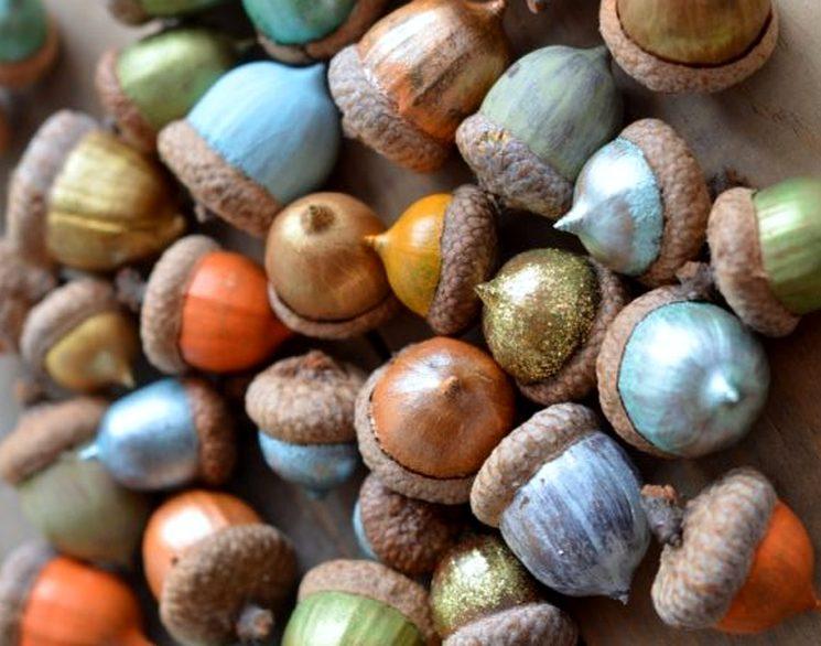 Что сделать из желудей для детского сада