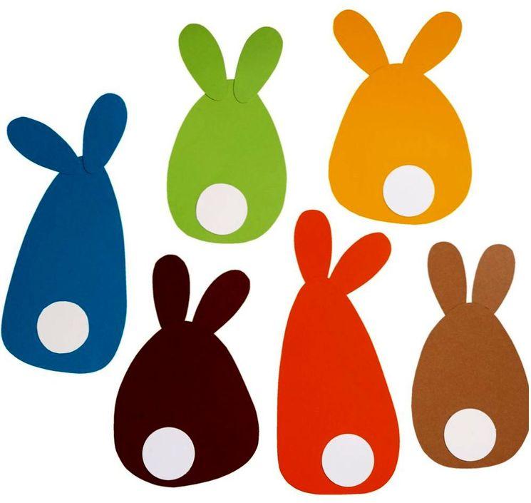 Поделка - пасхальные кролики