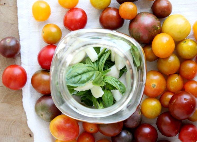 Подготовка томатов для консервирования