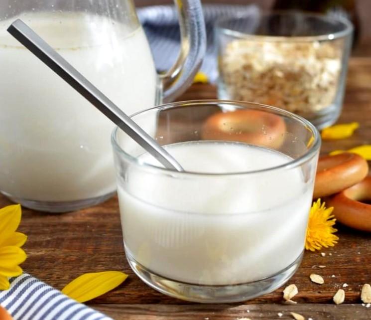Пошаговый рецепт овсяного молока