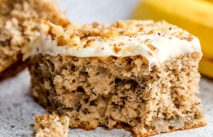 Простой пошаговый рецепт бананового торта