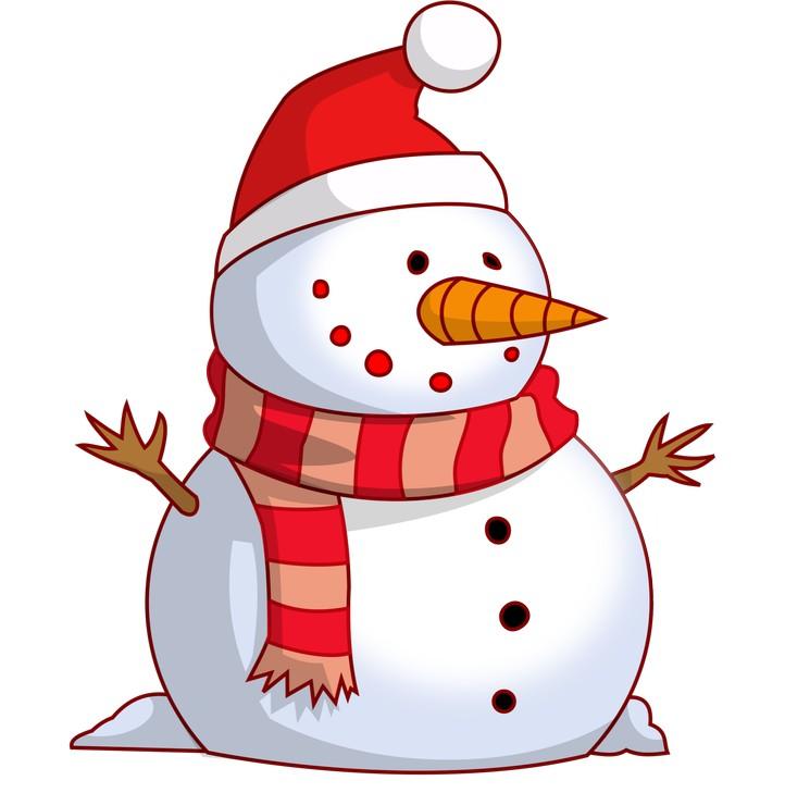Верните нос снеговику - развлечение для детей