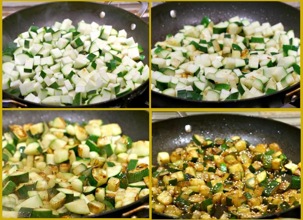 Пошаговый рецепт приготовления остреньких кабачков