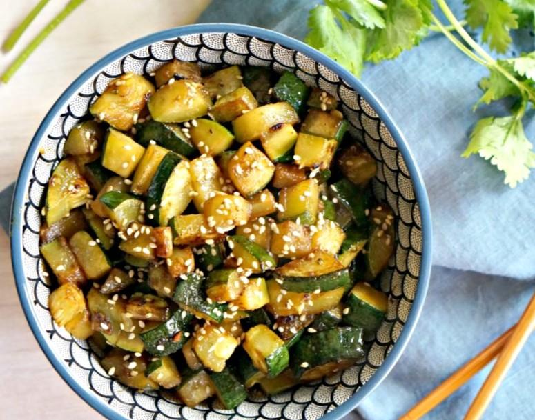 Как готовить кабачки Хибачи