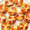 Пицца пепперони из кабачка рецепт