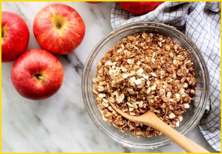 Запечённые яблоки с начинкой - шаг 1