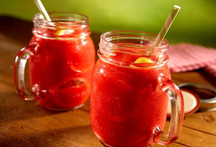 Рецепт домашнего клубничного лимонада